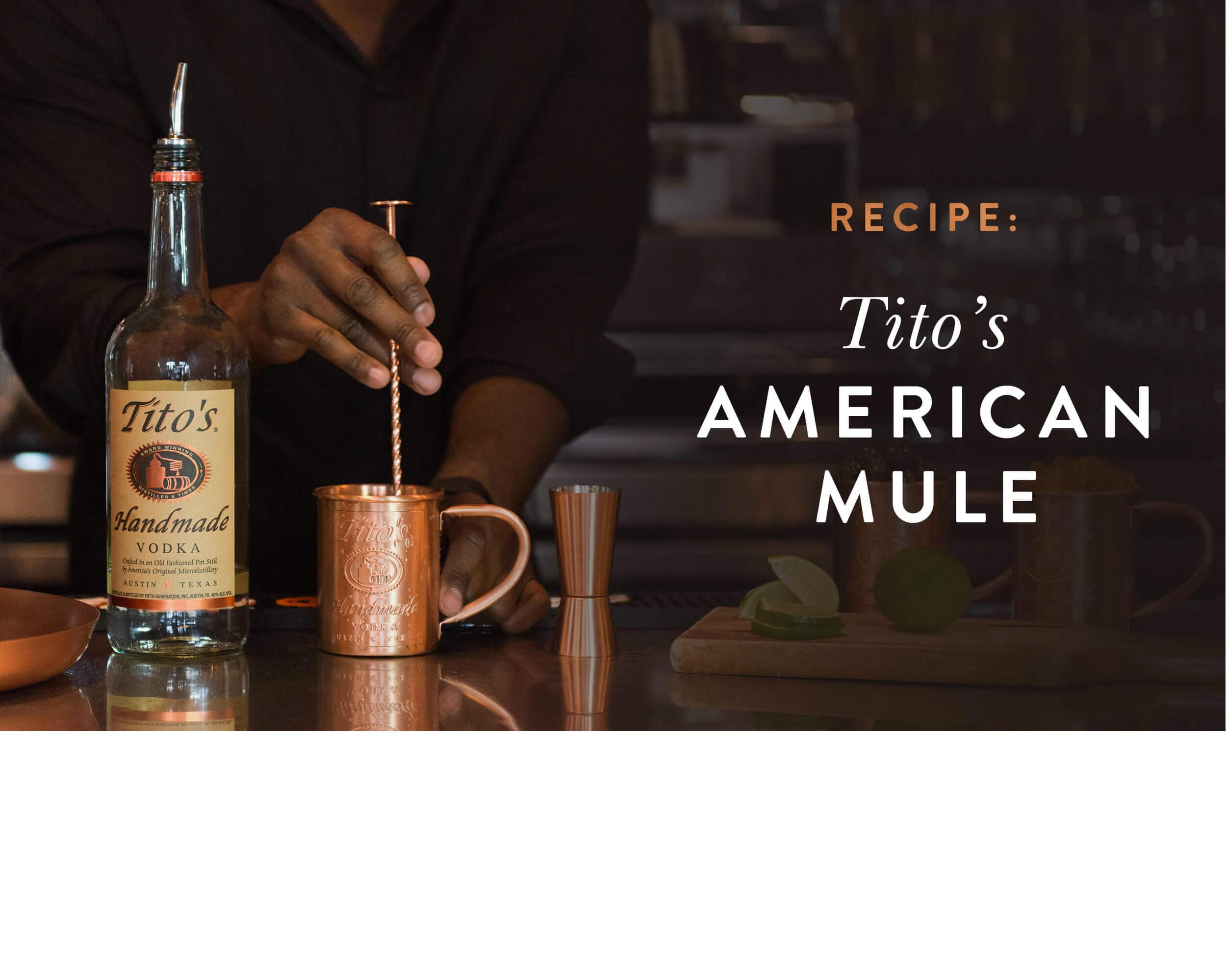 American Mule Recipe