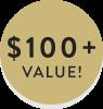 $ 100 + VALUE
