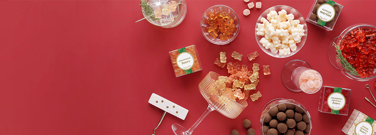 Holiday Treats on the Rocks. Raise your holiday spirits with these cocktail inspired candies sure to make your holiday season merry and bright.