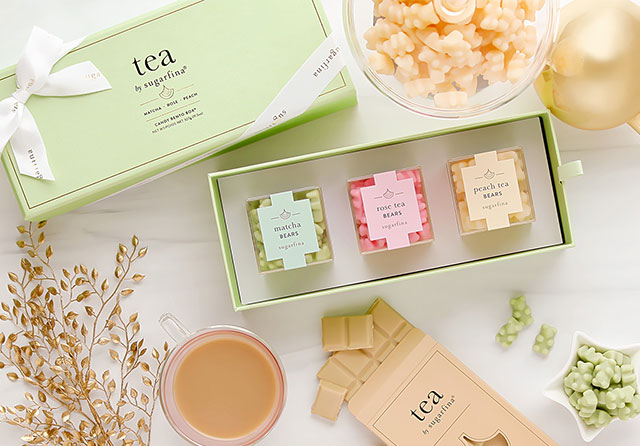 Teas the season. Make the season even merrier with our tea collection. It's the perfect gift to help her unwind and relax during the holidays.
