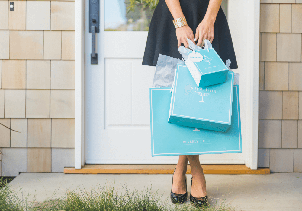 Same Day Delivery From Sugarfina with Uber Eats and Postmates